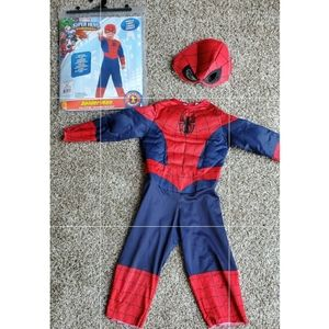 Toddler Spiderman Costume size 2T-4T